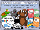 Diary of an Animal Inquiry Writing Project - DIGITAL Google Drive resource