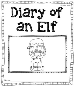 Diary of an Elf [Journal Printable]
