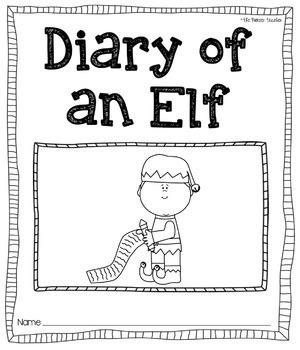 Diary of an Elf [Journal Printable]