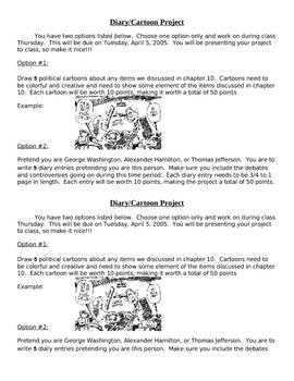 Diary/Cartoon Project