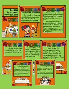 Días de los Muertos - Mexican Day of the Dead for YOUNG children