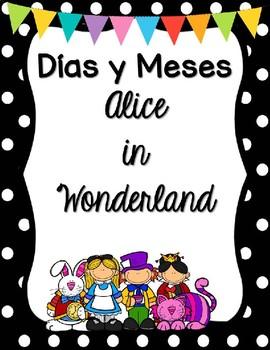 Días y Meses - Alice in Wonderland