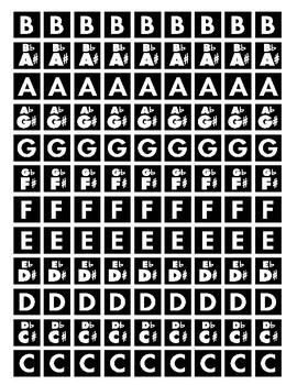 Note Tile Sheet / MrMikesMusicMats