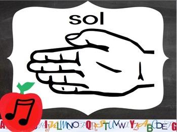 Diatonic Solfege Signs (School Theme)