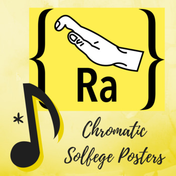 Diatonic and Chromatic Solfege Hand Signs Primary