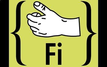 Diatonic and Chromatic Solfege Hand Signs Retro