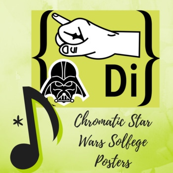 "Diatonic and Chromatic Solfege Hand Signs Retro ""Star Wars"""