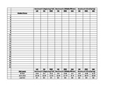 Dibels Benchmark Spreadsheet (1st Grade)