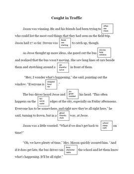 Dibels DAZE Practice Stories #1