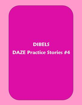 Dibels DAZE Practice Stories #4