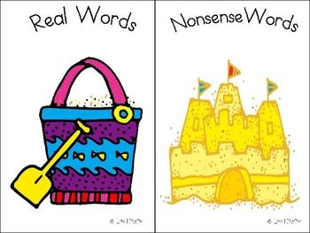 Dibels Review Activity-Real or Nonsense Word Sort