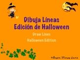 Dibuja Líneas/ Edición de Halloween - Draw lines/ Hallowee
