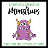 Dibuja un monstruo (Spanish descriptions)