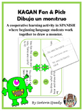 Dibuja un monstruo - Kagan Fan & Pick to practice Spanish body parts