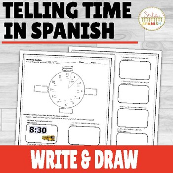 Time and Ir Drawing Activity