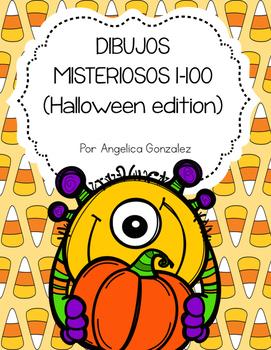 Dibujos misteriosos- Halloween (Mystery pictures SPANISH)