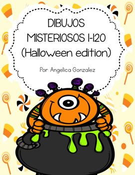 Dibujos misteriosos del 1-120 Halloween (Mystery pictures SPANISH)