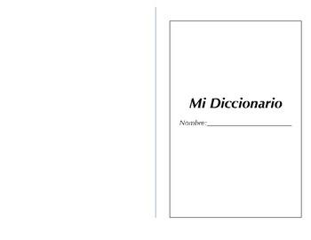 Diccionario para estudiantes