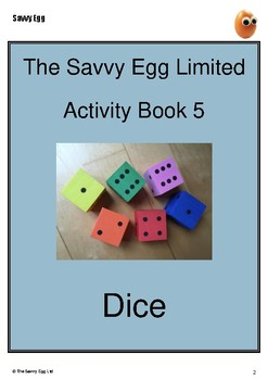 Dice Activity Booklet
