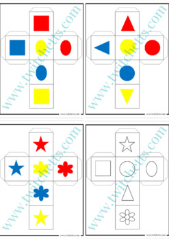 Dice Activity Set. Colors, Counting, and More!