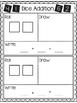 Dice Addition Recording Sheet