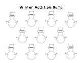 Dice Addition and Subtraction Bump Games Templates