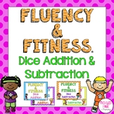 Dice Addition and Subtraction Fluency & Fitness Brain Breaks