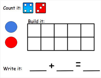 Dice Addition for Google Classroom
