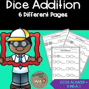 Dice Addition for Primary Grades
