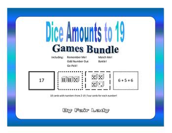 Dice Amounts to 19 - 5 Game Bundle