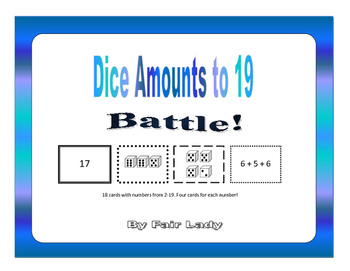 Dice Amounts to 19 - Battle!