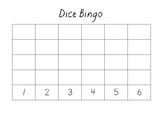 Dice Bingo - Subertising Number Patterns Game