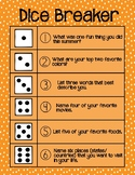 Dice Breaker - Ice breaker dice game
