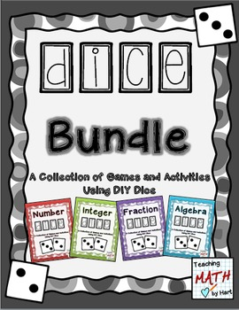 Dice Bundle - A Collection of Games and Activities