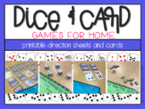 Dice & Card Games {for home or school}
