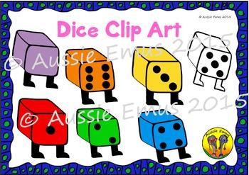 Dice Clip Art