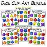 Dice Clip Art Bundle