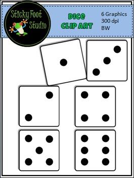 Dice Clip Art For Math