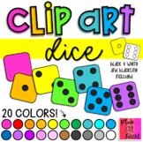 Dice Clip Art / Set of 154 Images