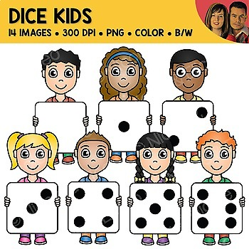 Dice Kids Clipart