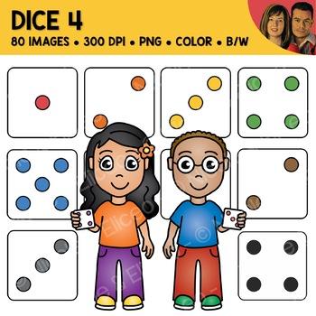 Digital Graphics - Dice Clipart 3
