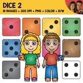 Digital Graphics - Dice Clipart 1