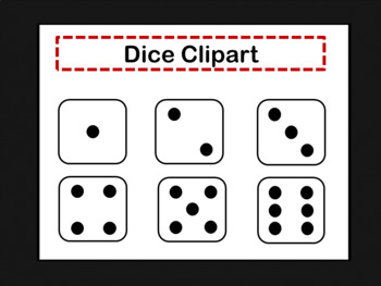 Dice Clipart