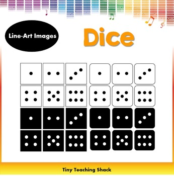 Dice Clipart - Game Pieces