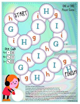 Winter Alphabet Activity ● Alphabet Game ● Dice Game