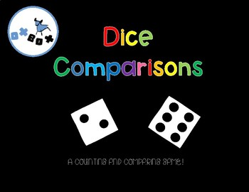 Dice Comparisons! Eureka Math Center for PreK and Kindergarten