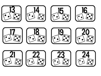 Dice Container Labels