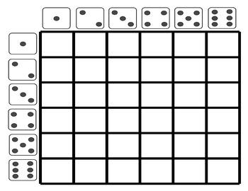Dice Conversation Grid