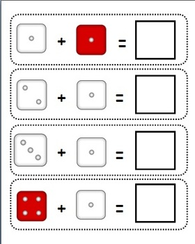 Dice Counting/ Addition Game