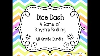 Dice Dash: A Rhythm Game (All Grades Bundle)